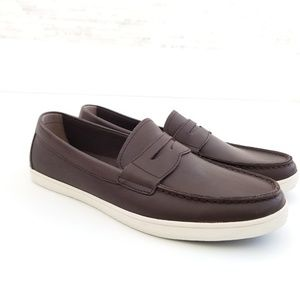 New COLE HAAN Hyannis Leather Penny Loafers II